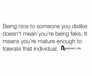 quotes, fake, and life image