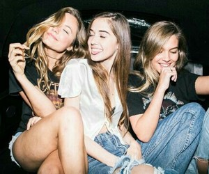 bffs, girls, and hipster image