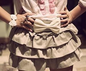 fashion, skirt, and bow image