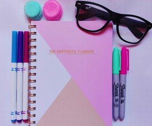 colors, planner, and stile image