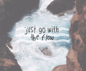 quotes, flow, and water image