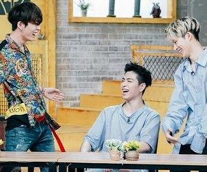 Ikon, jinhwan, and donghyuk image