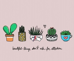 quotes, wallpaper, and plants image