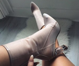 boots, high heels, and nails image