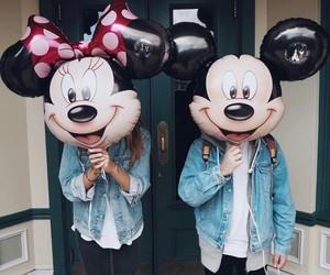disney, feliz, and mickey image