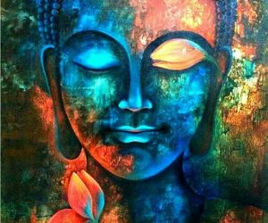 Buddha and art image