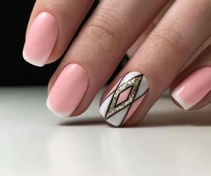 nails, beautiful, and art image