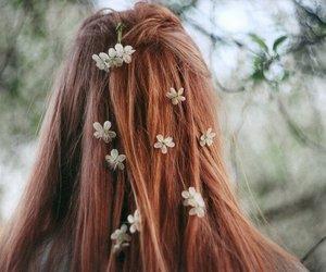 girl, tumblr, and hairs image