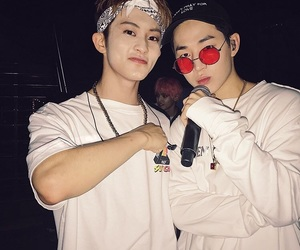 mark, nct, and henry image
