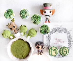 green, harry potter, and mad hatter image