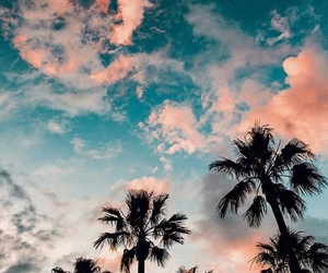 wallpaper, summer, and sky image