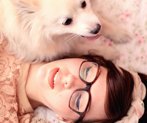 dog, girly, and puppy image
