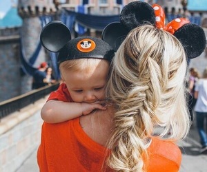 baby, disney, and hair image
