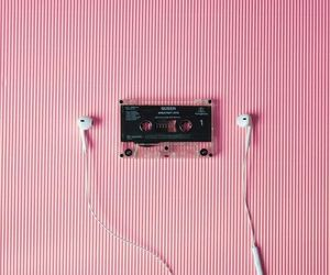music and pink image