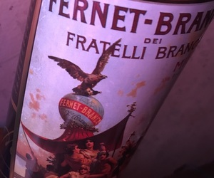 alcohol, pink, and fernet image