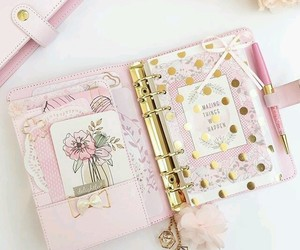 notebook, diary, and planner image