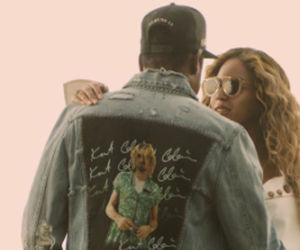 jay, los angeles, and queen bey image
