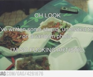 9gag, artistic, and hipster image