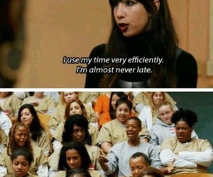 oitnb, orange is the new black, and funny image