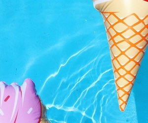 background, pool, and summer image