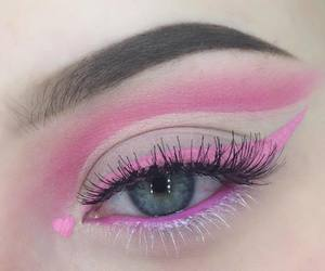 pink and makeup image