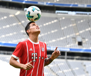 bayern munich and james rodriguez image