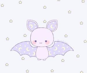 bat, cute, and cartoon image