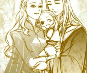 family, thranduil, and Legolas image
