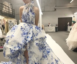 dress, gown, and pretty image