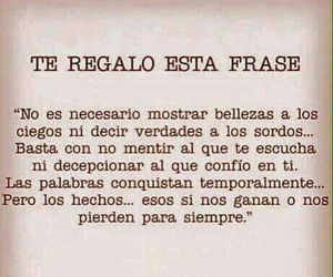 frases, verdad, and hechos image