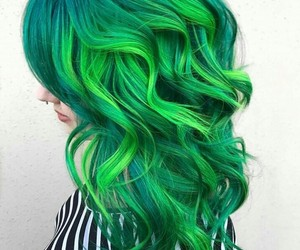 wavy, hair color, and hair design image