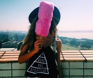 girl, food, and summer image