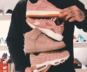 sneakers, Tattoos, and huaraches image