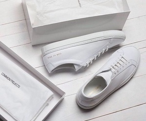 white, shoes, and sneakers image