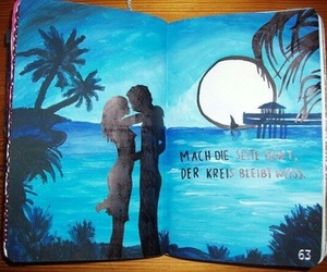 wreck this journal, ocean, and beach image