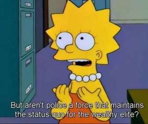 lisa simpson and the simpsons image