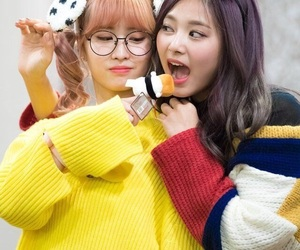 momo, twice, and tzuyu image
