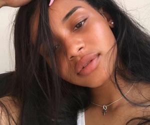 girl, beautiful, and nails image