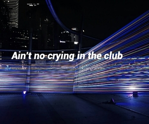 club, crying, and in image