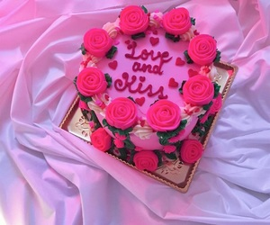 pink and cake image