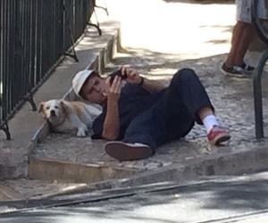 mac demarco and dog image