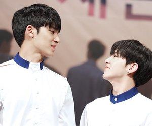 Seventeen, mingyu, and soonyoung image