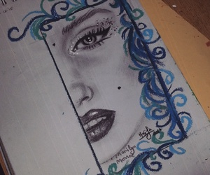 art, beauty, and marilyn image