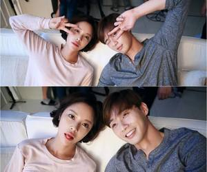she was pretty, jung eum, and park seo joon image