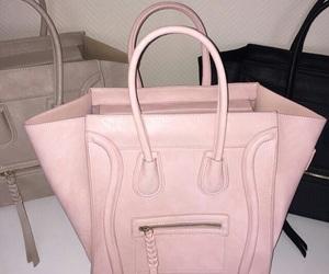 bag, pink, and celine image