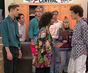 80s, 90s, and saved by the bell image