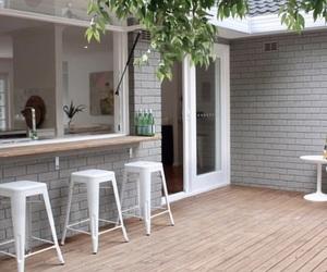 backyard, inspiration, and deck image