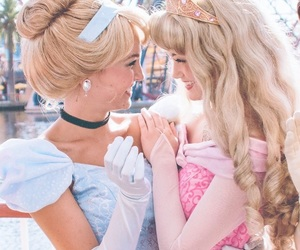 couple, sapphic, and disney image