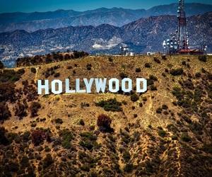 california, 🇺🇸, and hollywood image