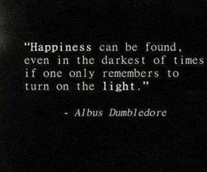 quotes, harry potter, and happiness image